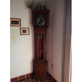 Reloj De Péndulo De Pedestal Perfecto Estado