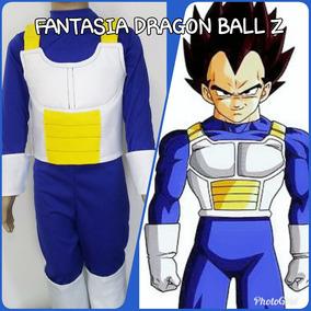 Fantasia Vegetta Dragon Ball Z Infantil