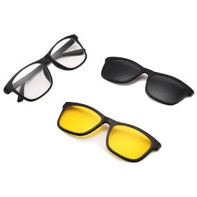 22e595c3f4352 Lente 3 1 Magnetica De Sol - Óculos no Mercado Livre Brasil