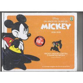 Livro Os Anos De Ouro De Mickey X Mancha Negra Lacrado