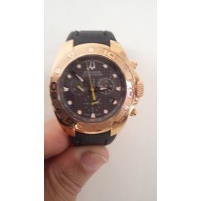 ba547e3228f Relogio Bulova Suico Ouro Gp - Relógios no Mercado Livre Brasil