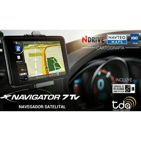 Gps Xview Navigator 7 Tv Digital Tda 7 Pulgadas Sistema Igo