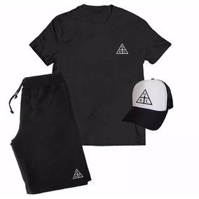 141549934aed2 Kit Camiseta + Boné + Bermuda Damassaclan Dmc Rap
