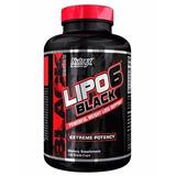 Lipo 6 Black Nutrex 120caps Termogênico Entrega Em 24h Em Sp