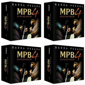 Mpb4 Barra Pesada Box Cd Barra Pesada Mpb4 Box Barra Pesada