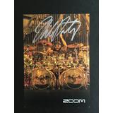 Autógrafo Mike Portnoy (dream Theater, Avenged Sevenfold)