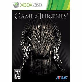 Jogo Game Of Thrones - Xbox 360 - Original - Mídia Física