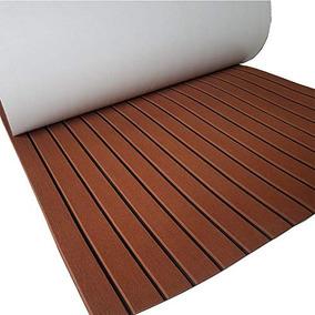 Yuanjiasheng Nuevo Diseño Eva Faux Teak Decking Sheet Para