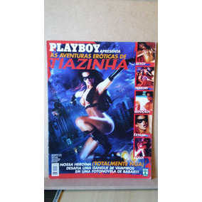 Revista Playboy Aventuras Eroticas De Tiazinha
