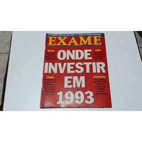 Revista Exame Ed.523 Onde Investir Em 1993 20/jan/1993