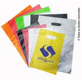 Sacolas Plásticas Personalizadas 16x22 - 1000 Unidades Hd