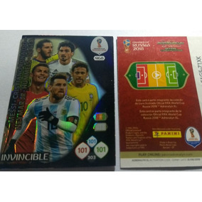 Card Copa 2018 468 Invincible Adrenalyn Panini