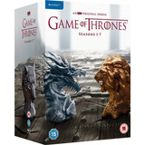 Game Of Thrones - Pack Temporadas 1 A 7 - Blu-ray, 30 Discos