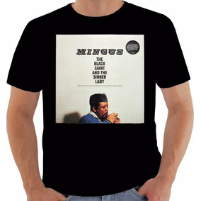 Camiseta Original Disco Charles Mingus The Black Saint 1963 76520a39631