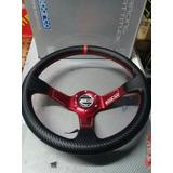 Volante Universal Sparco Rojo. Drifting