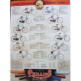 Pôster Bicicleta Antiga Phiilps Vários Modelos