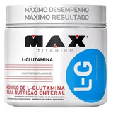 L-glutamina L Glutamina 300g Max +ganha 1 Lipo Class( Termo)