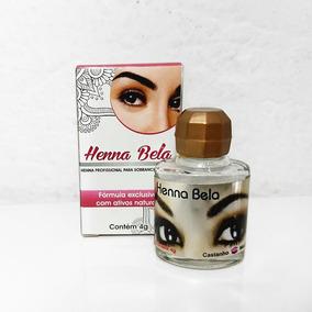 Henna Bela Cast. Médio + Lapis Branco