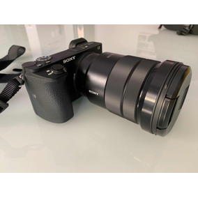 Câmera Sony A6500 + Lente 16/50 - 4599 Só A Camera