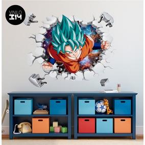 Vinilo Decorativo, Dragon Ball -104 Goku Sticker De Pared