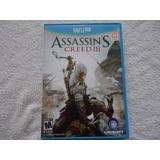 Assassins Creed 3 Nintendo Wii U