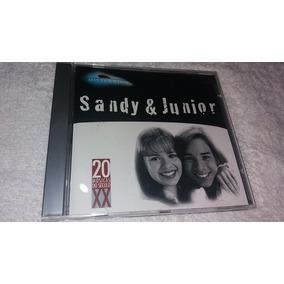 Cd Sandy & Junior - Coleção Millenium - Raro - Original.