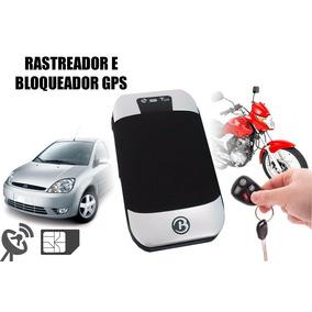 Rastreador Gps Bloqueador Veicular Carro Moto