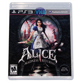 Alice Madness Returnes - Playstation 3 - Novo - Lacrado