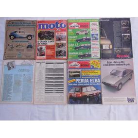Lote 8 Revistas 4 Rodas, Motor 3,moto,etc-leia Descrição