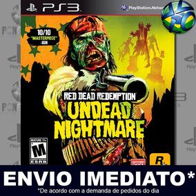 Undead Nightmare Red Dead Redemption Ps3 Código Psn Promoção