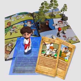 Bíblia 3d - Revista Com Jogos Realidade Aumentada