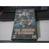 O Escondido - The Hidden - ( Vhs 1987 ) - Frete 8,00