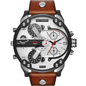 2801425f8b3 Relogio Quartz Quadrado Masculino Diesel - Relógios De Pulso no ...