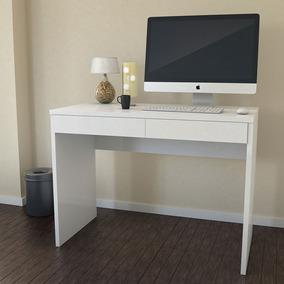 Escrivaninha Mesa Para Computador 6080 Cor Branco