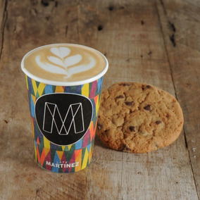 Café Martínez Espresso + 1 Cookie Take Away