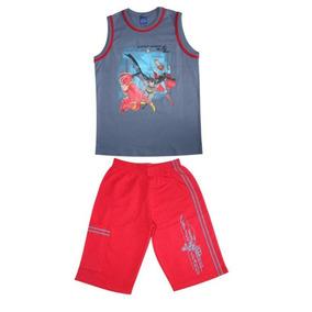 Conjunto Infantil Camiseta E Short Masculino