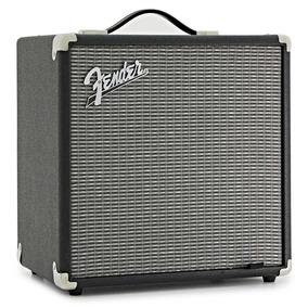 Amplificador De Bajo Fender Rumble 25 1x8 25w