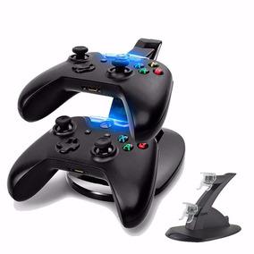 Carregador Duplo Para 2 Controles Xbox One Dock Station Base