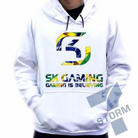 Moletom Canguru Sk Gaming Blusa De Frio Brasil d65e1d1dffb89