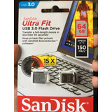 Usb 3.0 Sandisk Ultraspeed 64 Gb 150 Mb/segundo