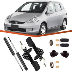 Kit 4 Amortecedor Honda Fit 2003 2004 2005 2006 2007 2008