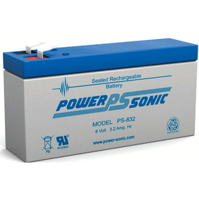 Bateria Power Sonic Ps-832 8 Voltios Battery Master