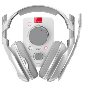 Headset Gamer Pc/x-one Astro A40 Tr + Mix Amp Pro Tr Branco