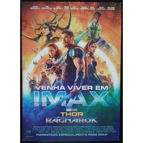 Thor Ragnarok - Mini-pôster Oficial Imax