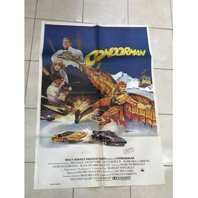 Antiguo Afiche De Cine Original Condorman-envios Gratis
