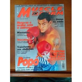 Revista - Muscle In Form - Arcelino Popó