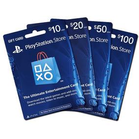 Gift Card De Playstation Tarjetas Desde $2 Buenos Precios