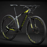 Bicicleta Mtb Sense Impact Carbon Evo 2019 Cinza/amarelo