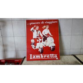 Pôster Antigo Lambretta