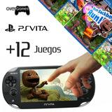 Playstation Vita Usado + Programación + 12 Juegos